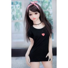 100cm new babby Little princess customed silicone sex dolls with Metal Skeleton lifelike Japanese sex toy for men