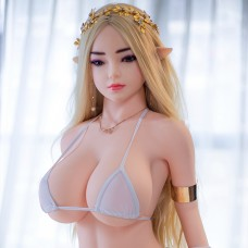 140cm sex doll with breast / vagina / oral / anal function, top quality silicone doll full body size with metal skeleton