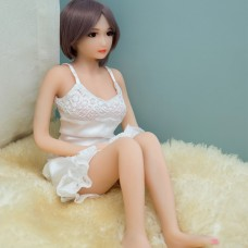65cm Silicone Mini Sex Doll Full Size Love Mini Real Sex Doll With Skeleton Japanese Adults Vagina Real Pussy sex toys for Man