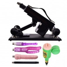 Updated Version Adjustable Speed Sex Machine for Couple With Vagina cup and 4PCS Dildo